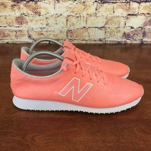 New Balance 420 Coral White Women's Running Shoes